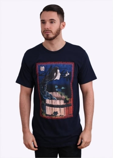 Stussy Well Ghost Tee - Navy