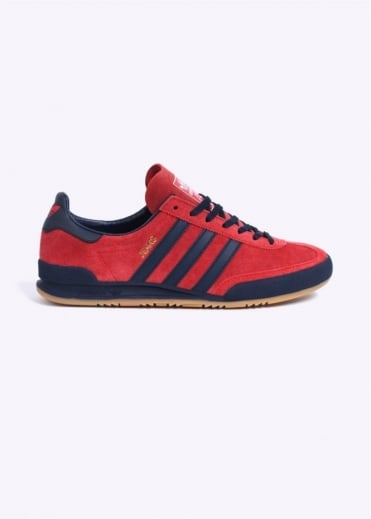 Adidas Originals Footwear Jeans MKII Trainers - Red / Collegiate Navy