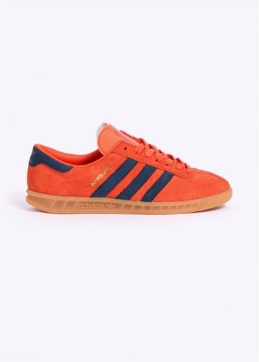 Adidas Originals Footwear Hamburg Trainers - Super Orange