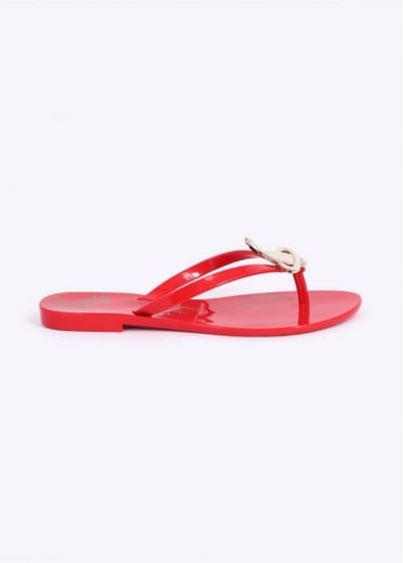 Vivienne Westwood Anglomania x Melissa Harmonic Orb Shoes - Red