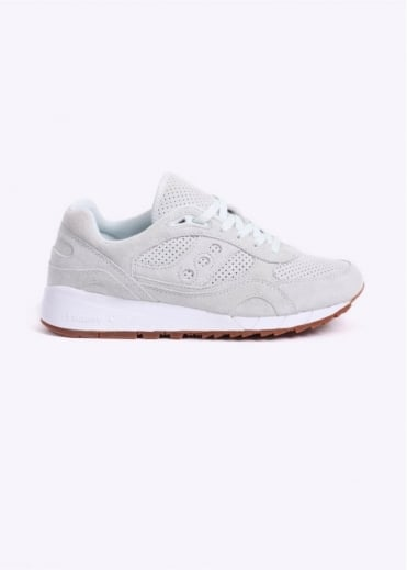 Saucony Shadow 6000 'Irish Coffee' Suede Trainers - Cream
