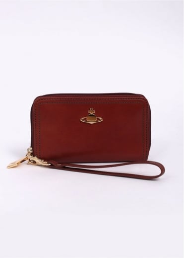 Vivienne Westwood Accessories Foglio Primrose Purse - Rust