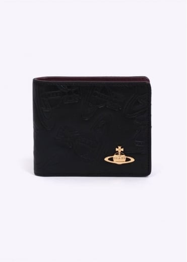 Vivienne Westwood Accessories Dancing Orb Wallet - Black