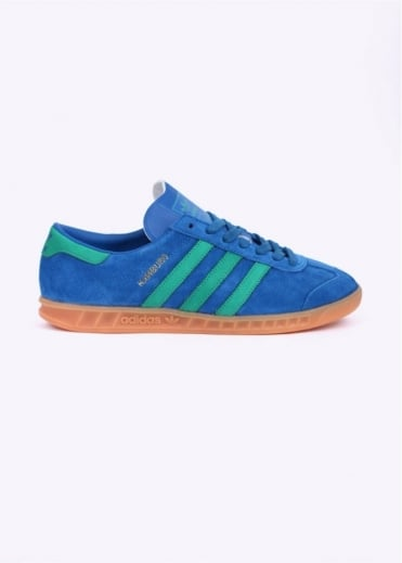 Adidas Originals Footwear Hamburg Trainers - Lush Blue