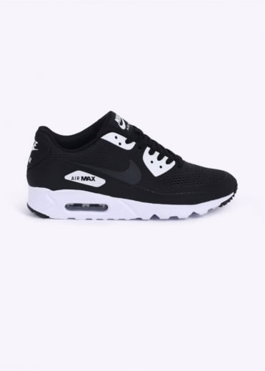Nike Footwear Air Max 90 Ultra Essential Trainers - Black / Anthracite