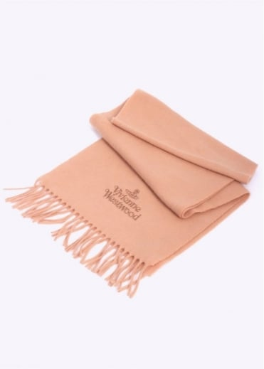 Vivienne Westwood Accessories Woven Scarf - Camel