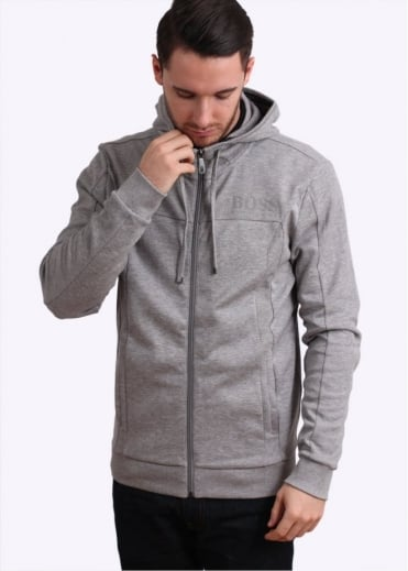 Hugo Boss Green Saggy Jacket - Light Grey