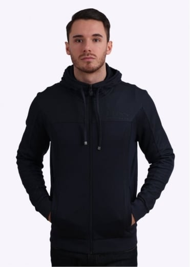 Hugo Boss Green Saggy Jacket - Navy