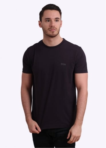 Hugo Boss Green Logo Tee - Oxblood