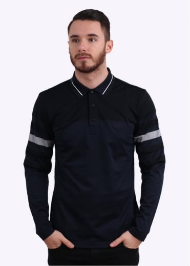 Hugo Boss Green Pleesy 1 Polo Shirt - Navy