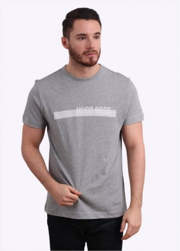 Hugo Boss Green Tee 3 - Light Grey