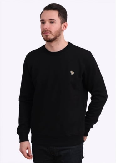Paul Smith Jeans Zebra Crew Sweatshirt - Black