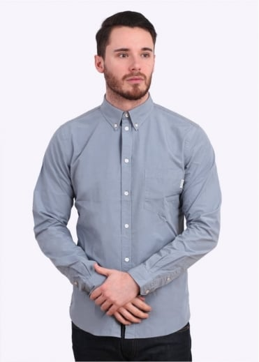 Paul Smith Jeans Long Sleeve Tailored Fit Shirt - Sky Blue