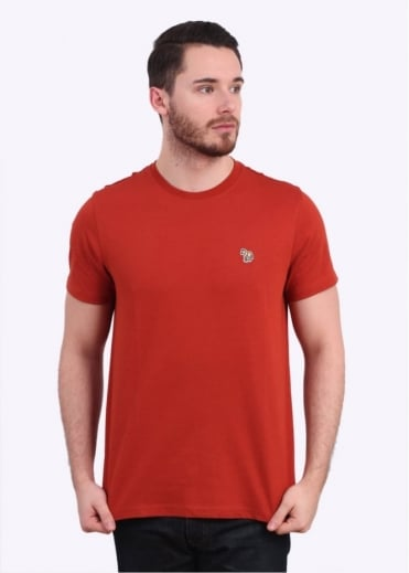 Paul Smith Jeans Zebra Tee - Rust