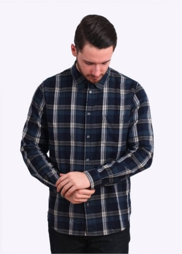 Paul Smith Jeans Check Shirt - Navy