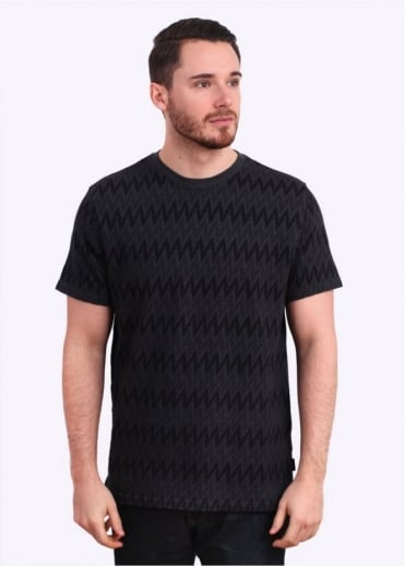 Paul Smith Jeans Pattern Tee - Black / Green