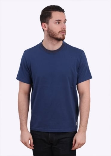 Paul Smith Jeans Alternate Collar Tee - Blue