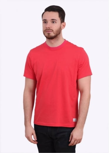 Paul Smith Jeans Alternate Collar Tee - Red