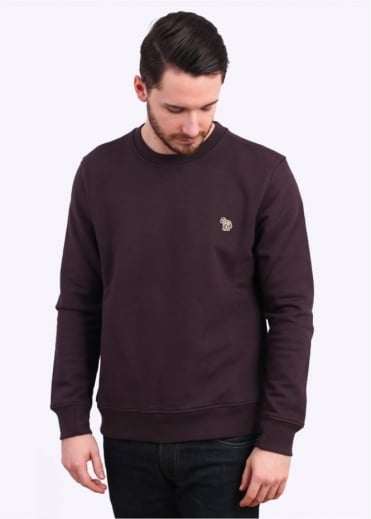 Paul Smith Jeans Long Sleeve Sweatshirt - Dark Maroon