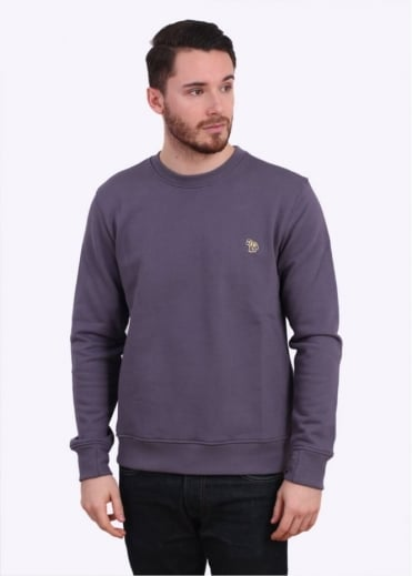 Paul Smith Jeans Long Sleeve Sweatshirt - Light Purple