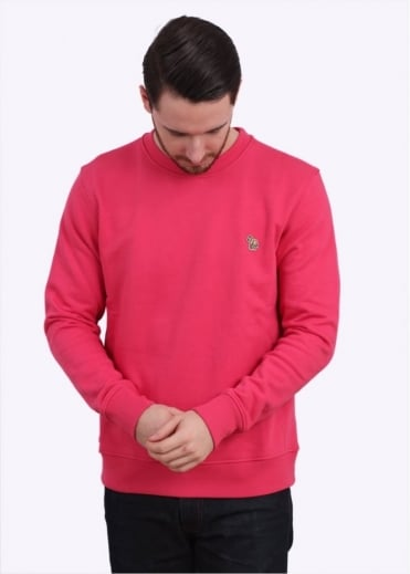 Paul Smith Jeans Long Sleeve Sweatshirt - Pink