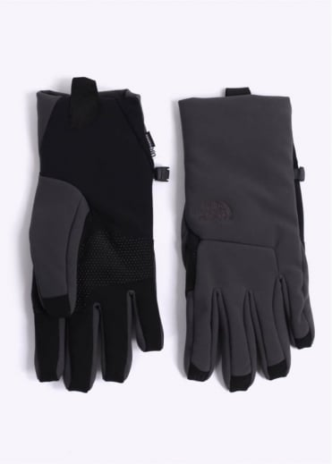 North Face Apex+ Etip Gloves - Asphalt