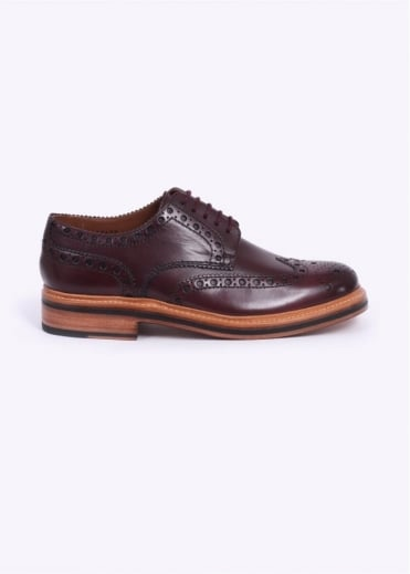 Grenson Archie Brogue - Burgundy