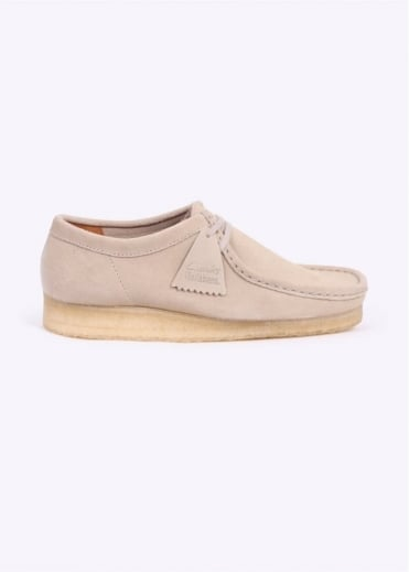 Clarks Originals Wallabee Shoes - Off White