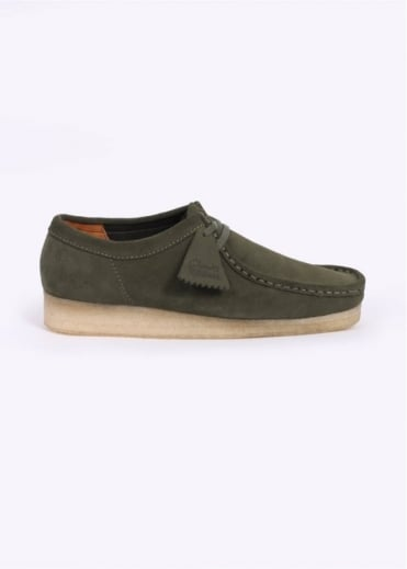 Clarks Originals Wallabee Shoes - Leaf