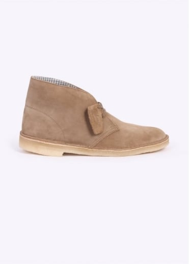 Clarks Originals Suede Desert Boot - Oakwood