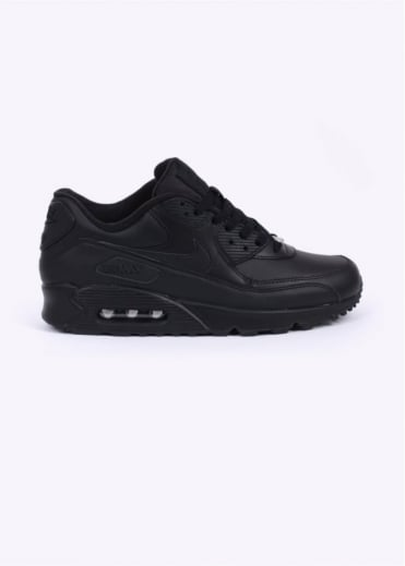 Nike Footwear Air Max 90 Trainers - Leather Black