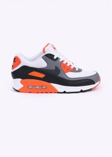 Nike Footwear Air Max 90 Essential Trainers - White / Orange