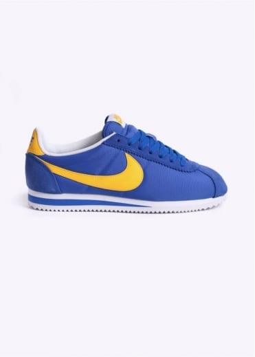 Nike Footwear Classic Cortez Nylon Trainers - Royal Blue