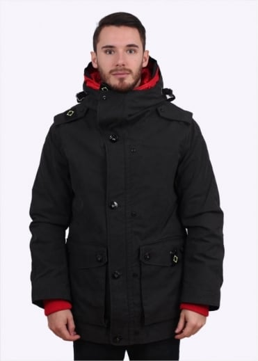 MA.STRUM Trooper Jacket - Jet Black