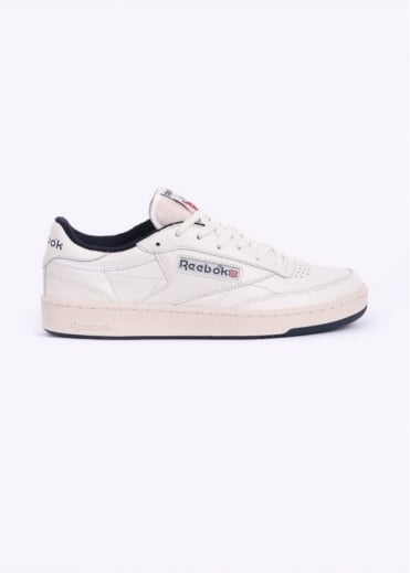 Reebok Club C 85 Vintage Trainers - Chalk / Navy