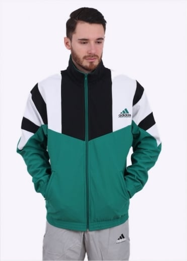 Adidas Originals Apparel EQT Boston Marathon Track Jacket - Sub Green