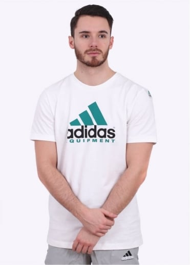 Adidas Originals Apparel Equipment Tee - White