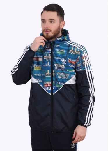 Adidas Originals Apparel Graphic Colorade Wind Breaker - Multi Coloured