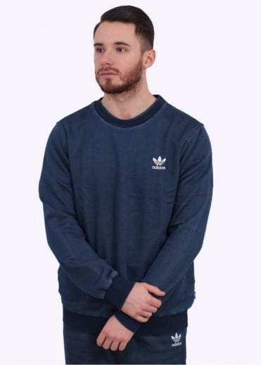 Adidas Originals Apparel FTD Crew Sweatshirt - Blue