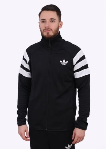 Adidas Originals Apparel Trefoil FC Track Top - Black