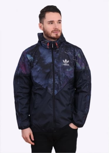 Adidas Originals Apparel Pattern Colorado Wind Breaker - Ink