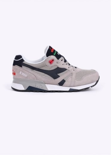 Diadora N9000 Italia 'Made in Italy' Trainers - Blue / Grey