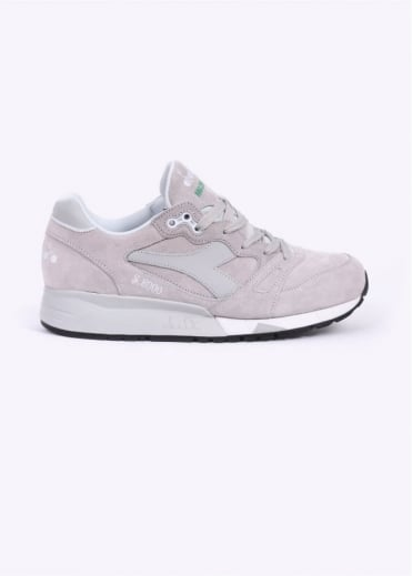Diadora S8000 Italia 'Made In Italy' Trainers - Grey / Rock