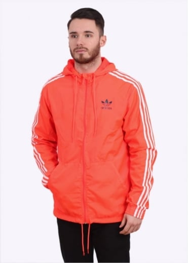 Adidas Originals Apparel Itasca Windbreaker - Solar Red