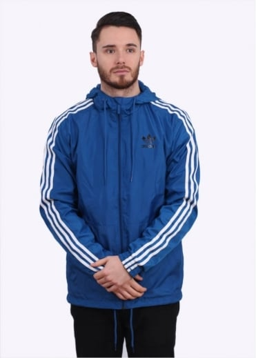 Adidas Originals Apparel Itasca Windbreaker - EQT Blue