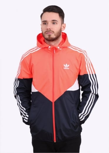 Adidas Originals Apparel Colorado Windbreaker - Solar Red
