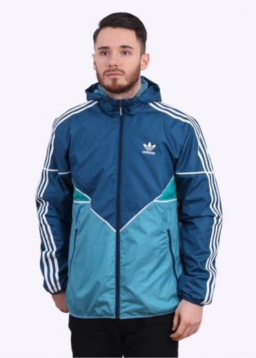 Adidas Originals Apparel Colorado Windbreaker - Light Blue
