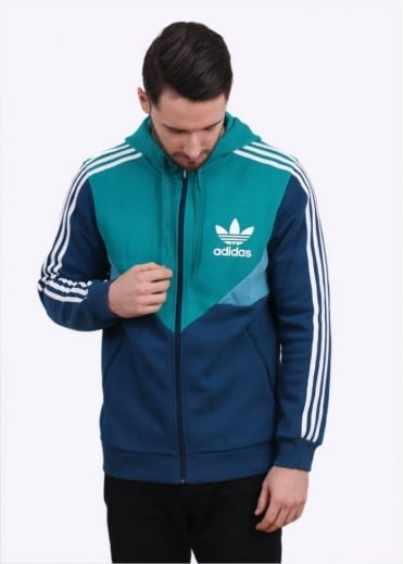Adidas Originals Apparel Colorado FZ Hoody - EQT Green