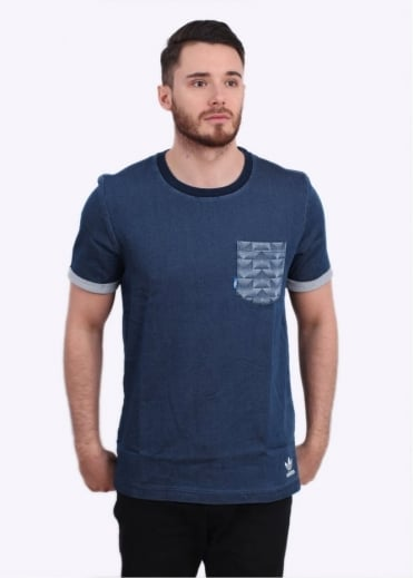 Adidas Originals Apparel FTD Tee - Blue