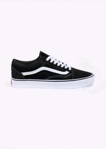Vans Old Skool Lite Trainers - Black / White